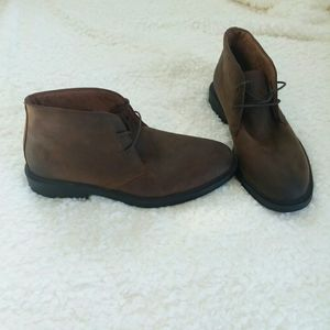 Florsheim Leather Chukka Boots